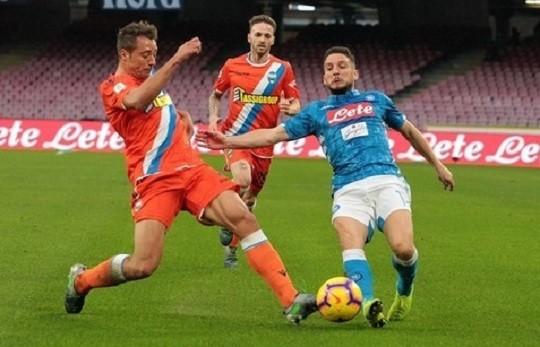 Наполи - СПАЛ 1:0. Отчет матча