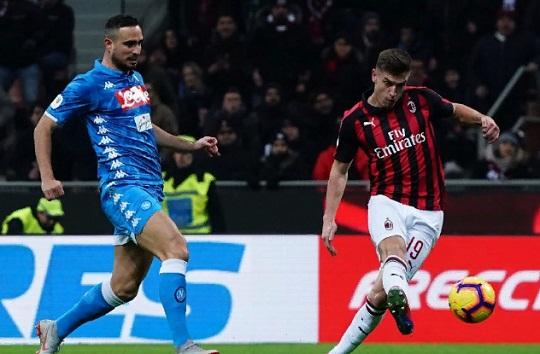 1/4 КИ: Милан - Наполи 2:0. Отчет матча